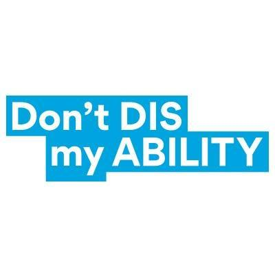 Don't Diss my Ability Logo