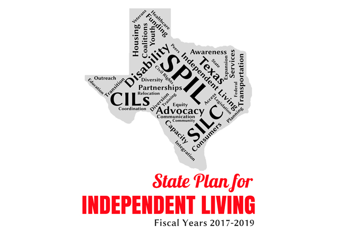 State Plan with Flag on background